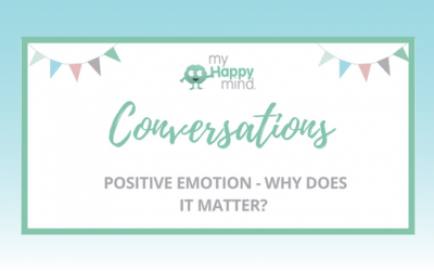 Positive emotion – why does it matter?