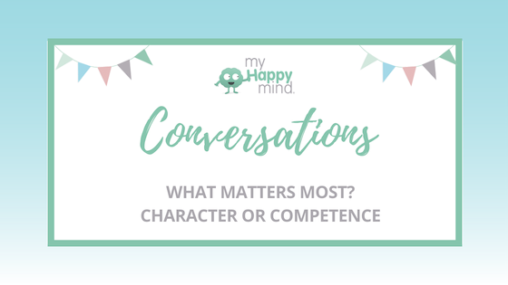 What matters most character or competence